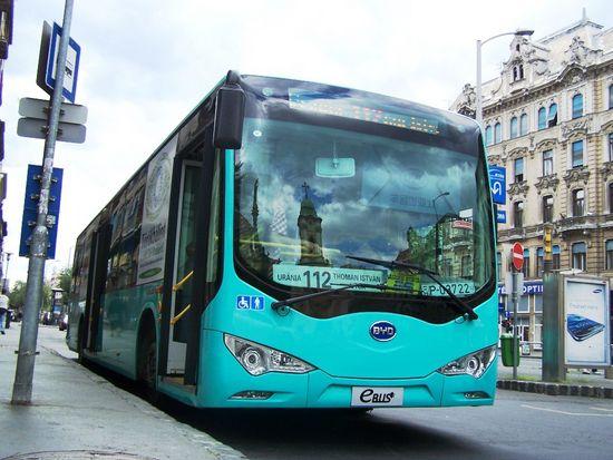 Sikeres volt a kínai villanybusz bemutatkozása 84fba3186d