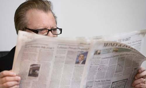 késve kapta meg újságját