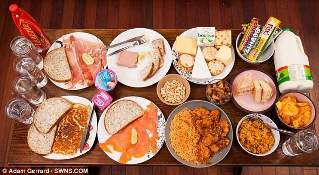 Egész napos munka: A nőnek a napi 5000-es kalória bevitel egész napi folytonos evést jelent; legalább 70 000 forintot költ hetente ételekre.