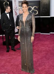 Halle Berry az Oscar-díj átadón