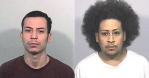 Az elkövetők: Jose M. Garcia (bal oldal) és Jose Rebollar-Verara