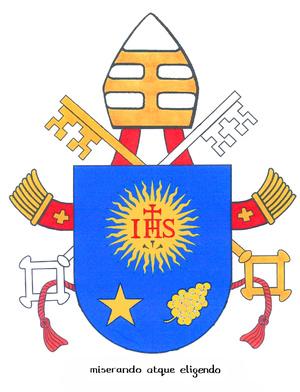 Bemutatták Ferenc pápa címerét d296423ce2