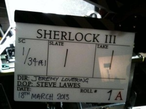 Forog a Sherlock 3. évada - via Twitter