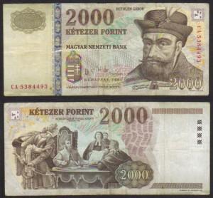 2,000 Forint