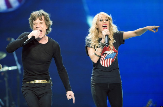 Rolling Stones & Carrie Underwood