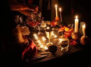 samhain-altar