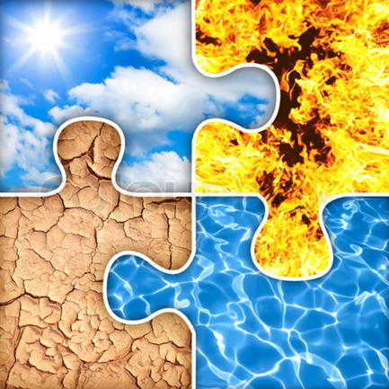 4270504-193800-four-basic-elements-of-nature-puzzle-air-fire-earth-water