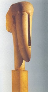 Modigliani szobor