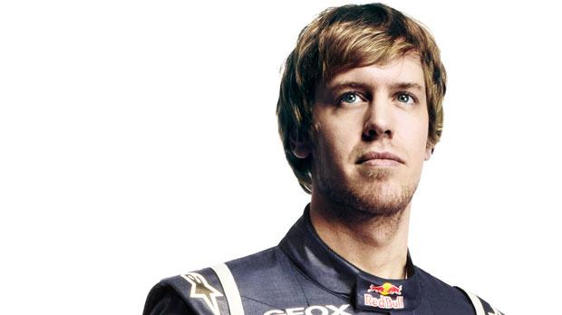 Vettel mindent vitt idén (Forrás: redbull.com)