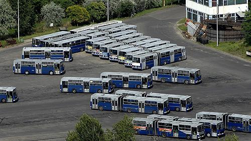 Budapesti képek - BKV busztelep a Nagykõrösi úton