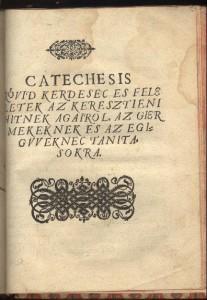 cathecismus