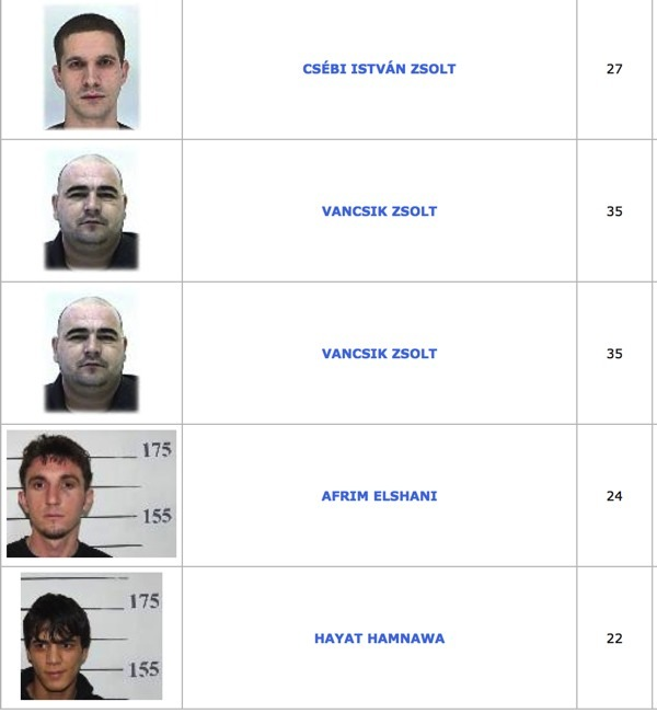 TOP100 körözött bűnöző11
