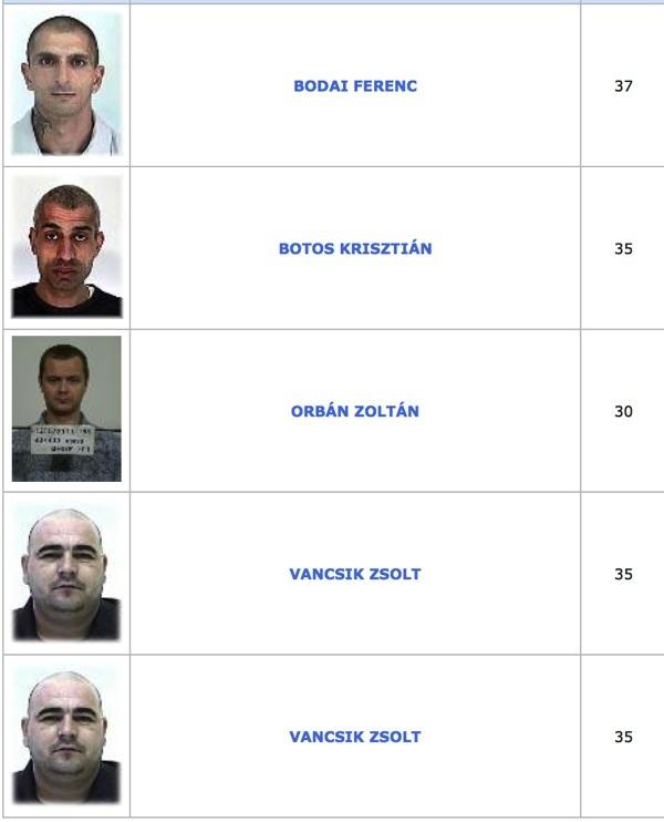TOP100 körözött bűnöző13