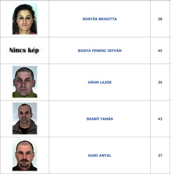 TOP100 körözött bűnöző14