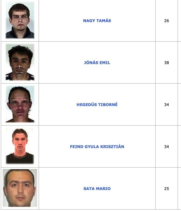 TOP100 körözött bűnöző16