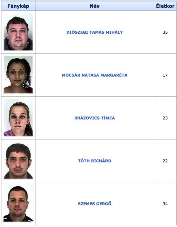 TOP100 körözött bűnöző17