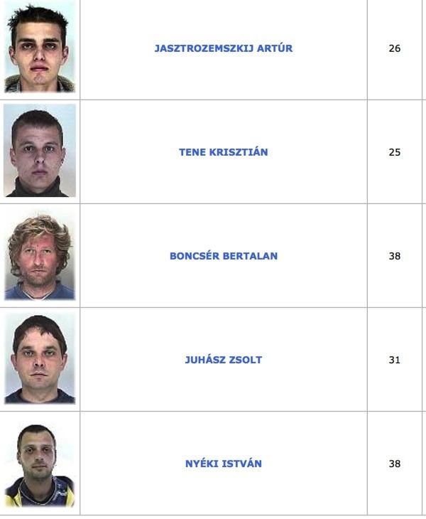 TOP100 körözött bűnöző2