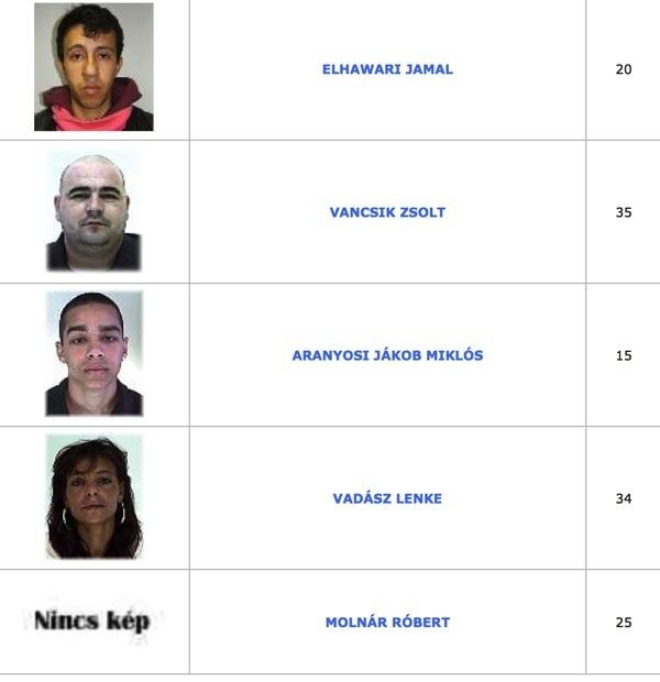 TOP100 körözött bűnöző7