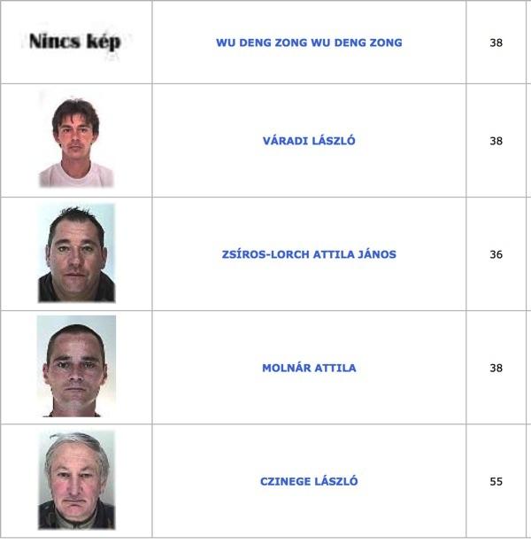 TOP100 körözött bűnöző8