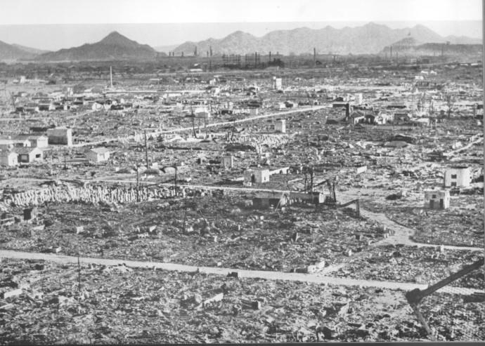 Pusztítás Hirosimába