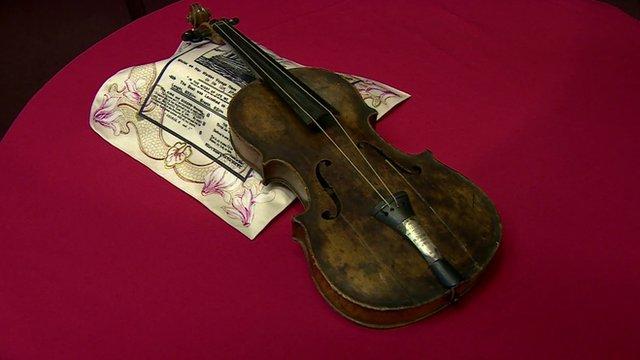 violinTitanic