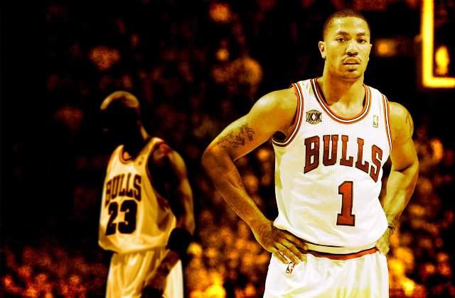 Derrick Rose térde nagyon sérülékeny (A kép illusztráció, forrás: basketwallpapers.com)