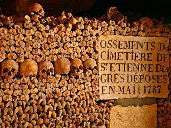 Parizs katakomba