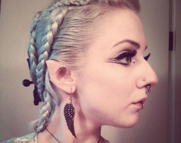 Elf ears  Model Melynda Moon