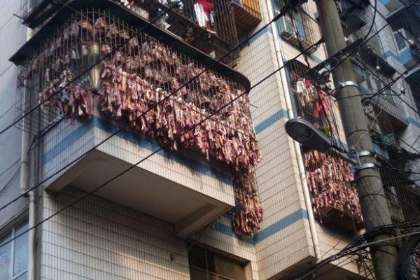 Bacon-hanging