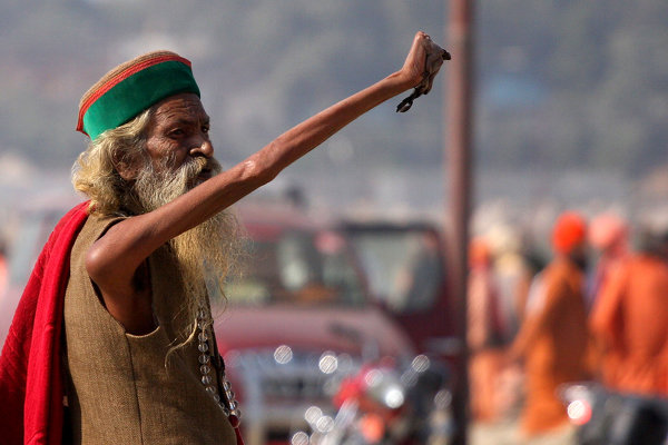 INDIA-RELIGION-KUMBH-SADHU