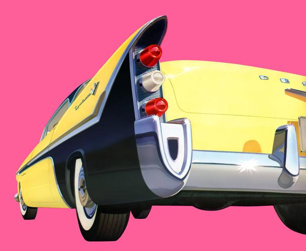 1956 DeSoto Fireflite two-door Sportsman