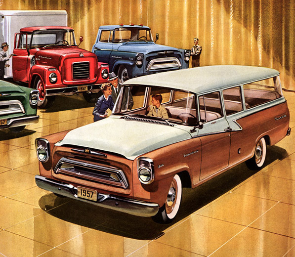 1957 International A Line A110 Travelall
