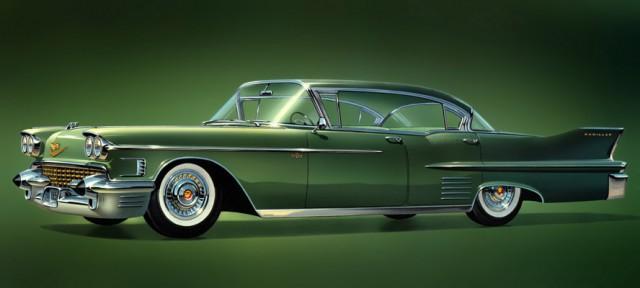 1958 Cadillac Series 62 sedan