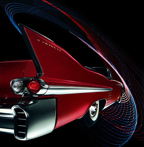 1958 Cadillac Series Sixty-Two convertible