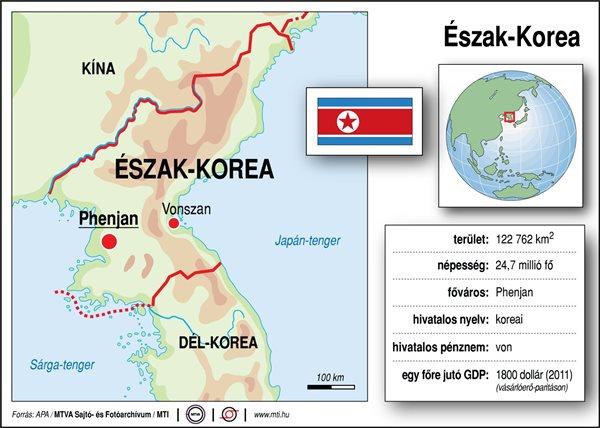 észak korea térkép Észak Korea | Hír.ma észak korea térkép
