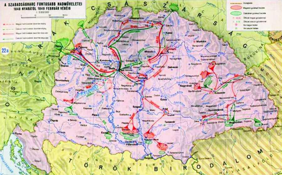 magyarország 1848 térkép Március 15   Kelemen Hunor: Minden nap küzdeni kell a szabadságért  magyarország 1848 térkép