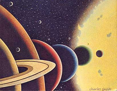 bolygók együttállása