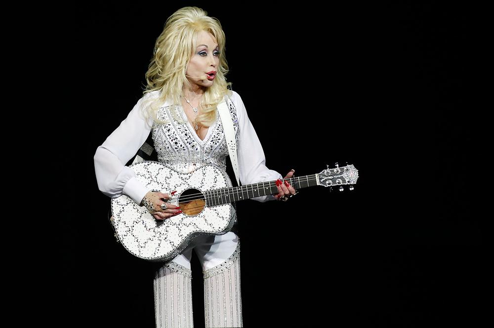 Dolly Parton Glastonburyben