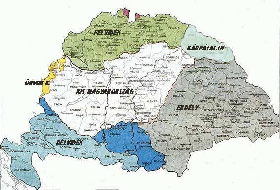 régi és új magyarország térkép Egy szelet Magyarország történelméből képekben   gif + videók | Hír.ma régi és új magyarország térkép