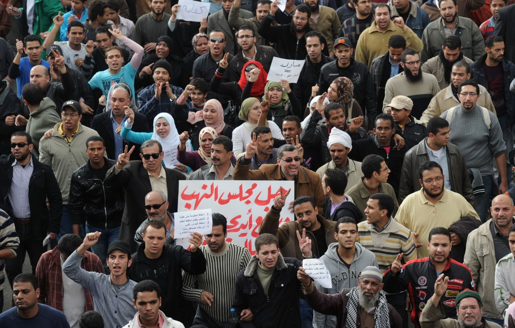 Political unrest in Egypt
