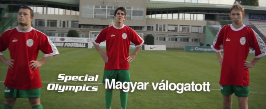 értelmileg fogyatékos focicsapat