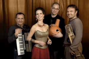 Nikola Praov Quartet Herczku Ágnessel