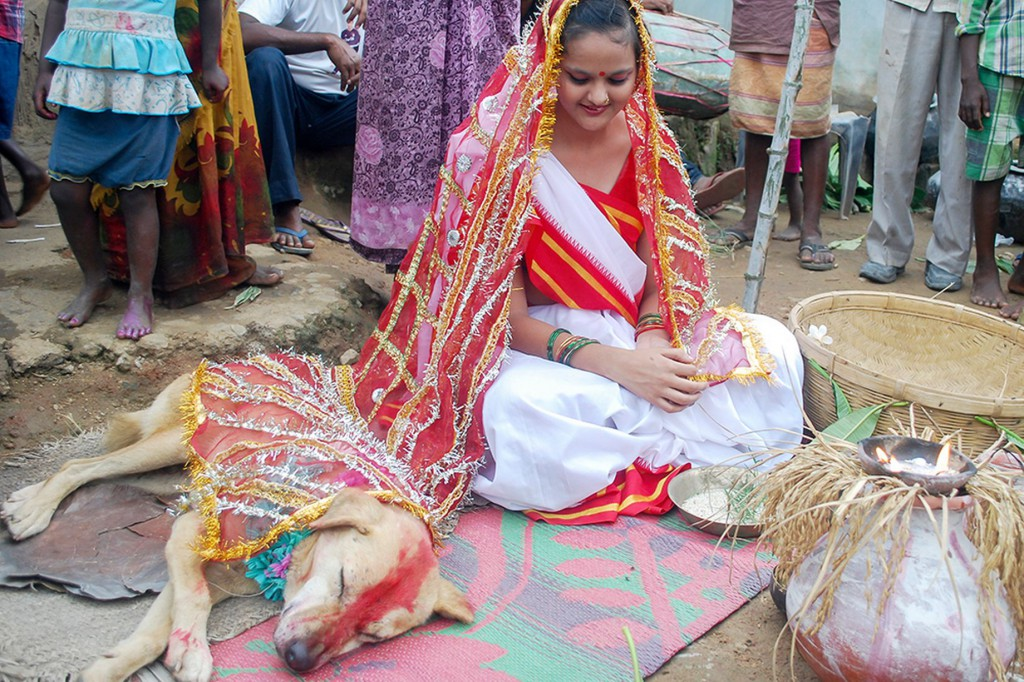 Woman-marries-dog