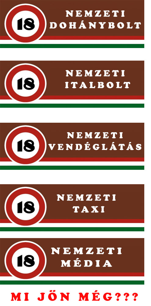 Nemzeti Államosítás Kormánya - Jönnek a nemzeti alkoholboltok ...