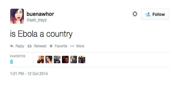 Ebola-Tweet