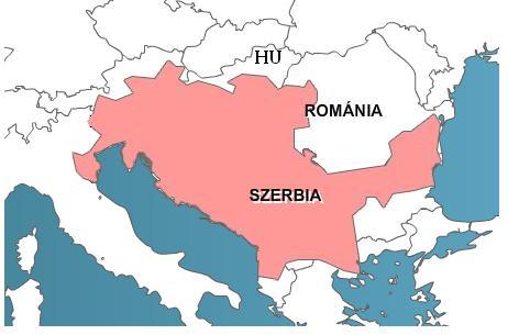 szerb magyar határ térkép Hét évtized után eltörölték három délvidéki település magyarjainak