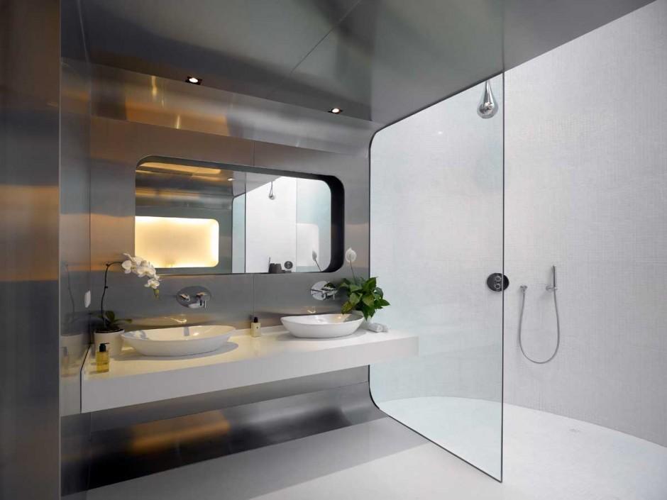 Szingap ri otthon a tengerparton h for 3 way bathroom designs