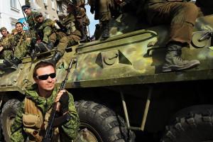 <> on September 14, 2014 in Lugansk, Ukraine.