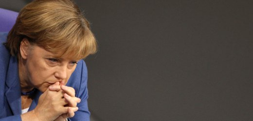 German Chancellor Merkel attends the budget session of the German lower house of parliament Bundestag in Berlin