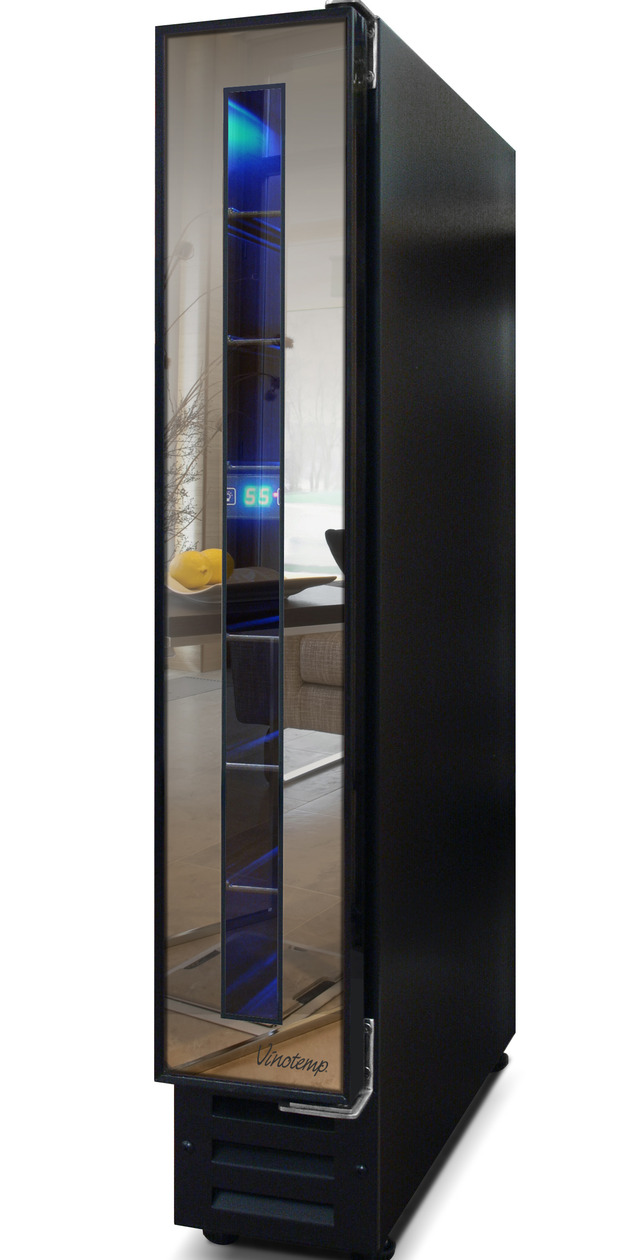 narrow-wine-cooler by-vinotemp-saves-space-and-looks-cool-2-thumb-autox1260-52116